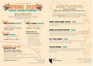 Spring Holiday Program